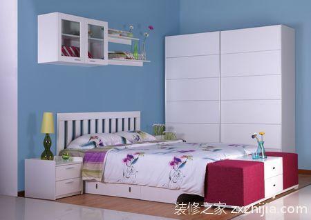 低碳风格清爽卧室装修