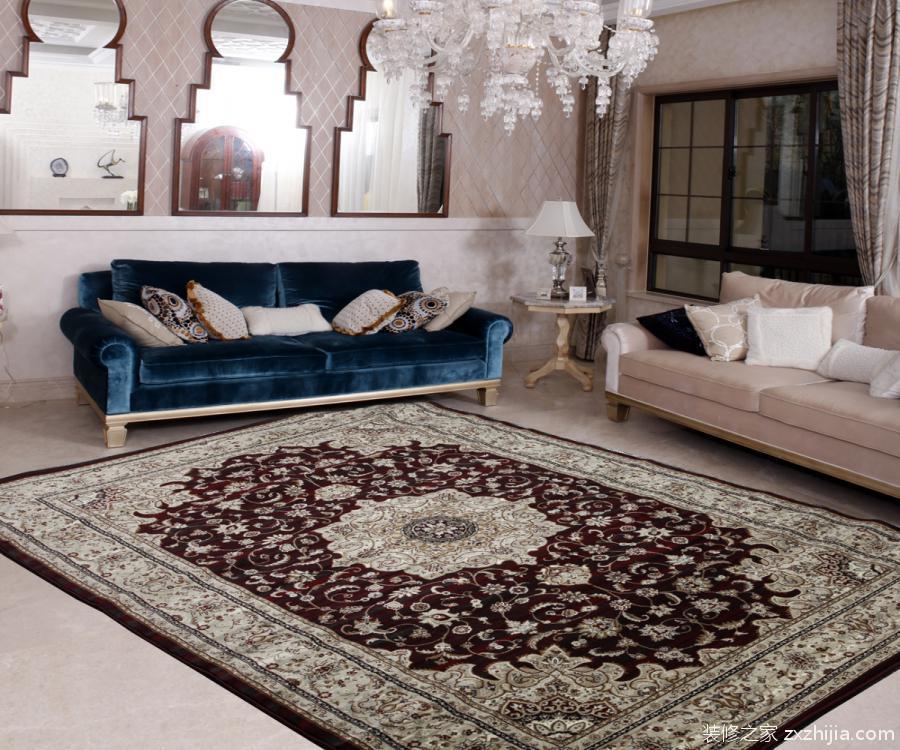 欧式地毯贴图的效果又是怎么样呢?