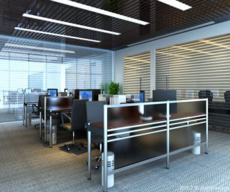 以往人们在这些部门单独的办公室进行装修的时候往往会选择实体墙来