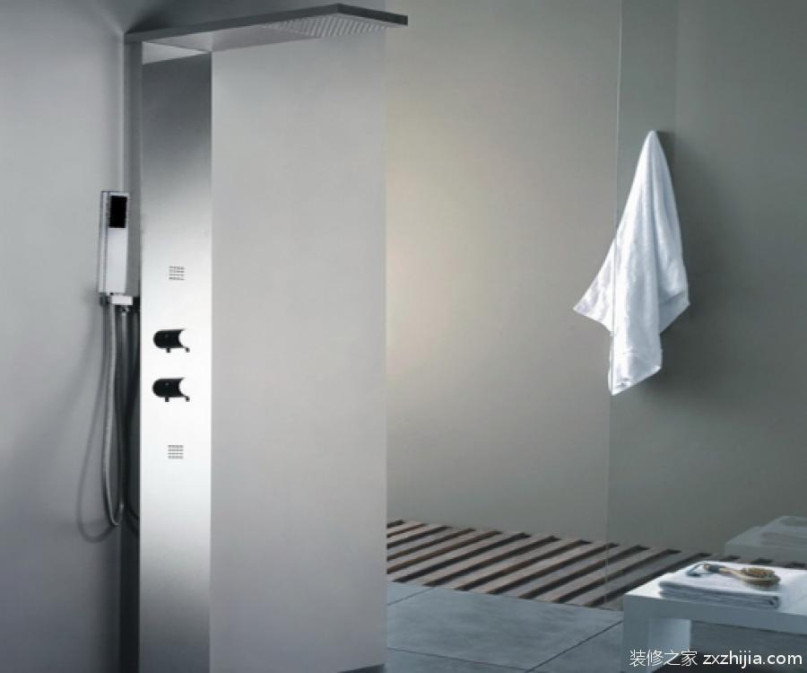 淋浴柱怎么安装