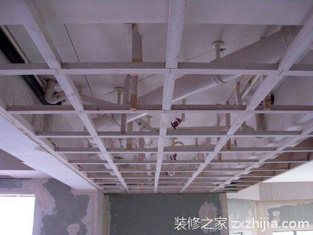 吊顶的装修施工流程