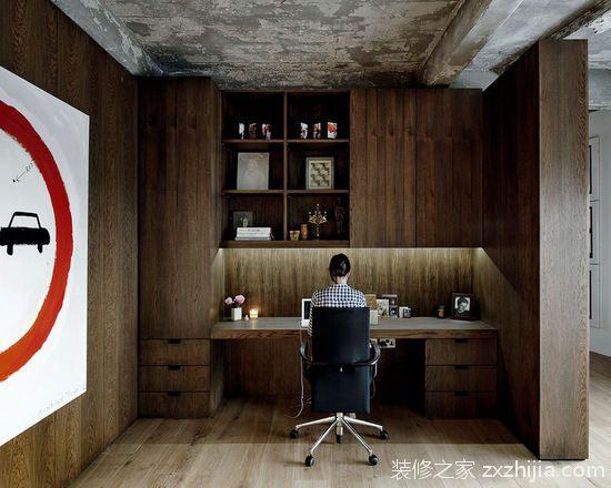 墻角里的書香安寧開辟一隅讀書角_裝修之家杭州裝修網