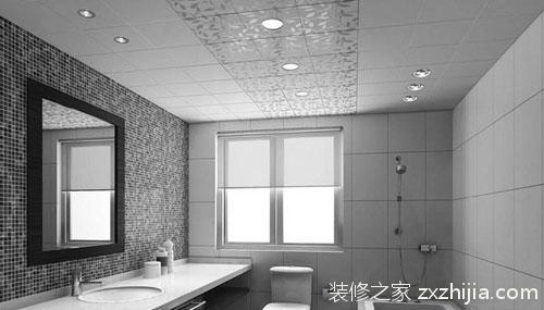 银灰色瓷砖搭配效果图