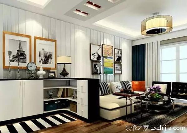 客厅矮柜隔断设计