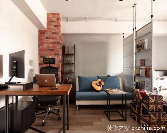 开放式英式乡村风格公寓设计