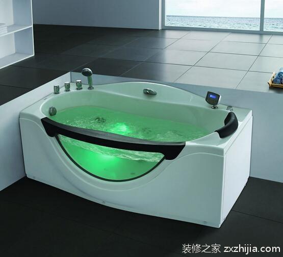 常见的圆形浴缸尺寸有直径1.5米和1.