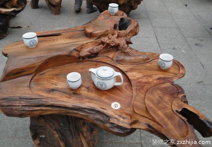 樟木根雕茶几怎么样