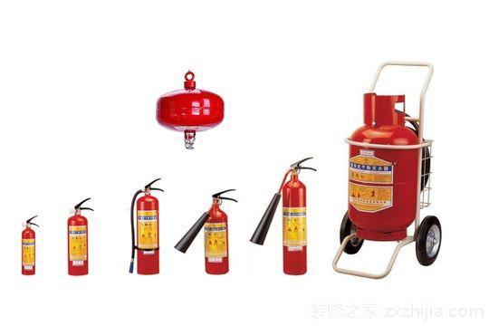 灭火器材的不同类型的相关介绍