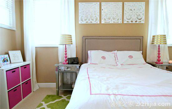 柔和色彩配精致软装小别墅里的浪漫情怀