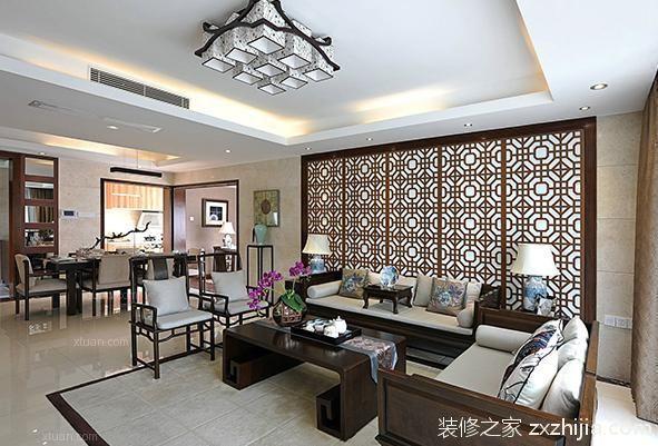 中式风格软装_装修之家无锡装修网