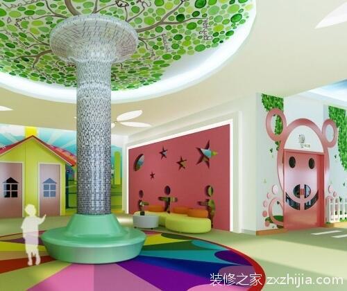 幼儿园装修设计,让小朋友喜欢上学