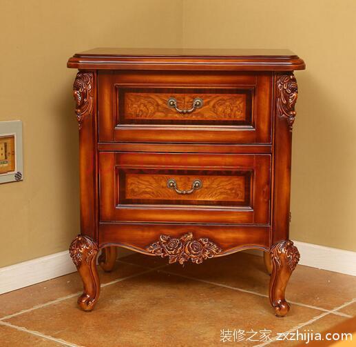欧式床头柜尺寸是多少?内外兼修的床头柜