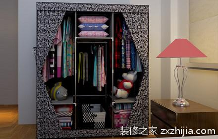 简易衣柜组装