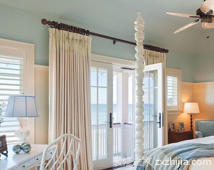 窗帘罗马杠安装方法_窗帘杆安装方法,看完自己安窗帘_装修之家网