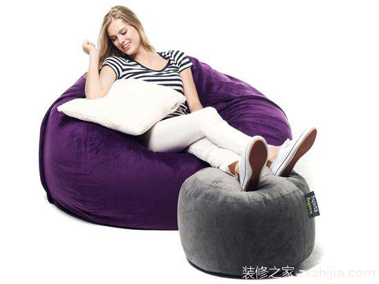 懒人沙发清洁与保养