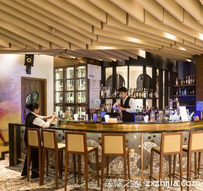 酒吧吧台设计要点,酒吧吧台尺寸规格