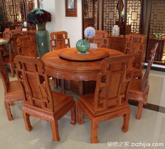 红木餐桌选购技巧