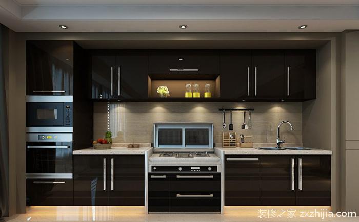 集成灶以其一体化的产品样式与厨房橱柜能够完美的配