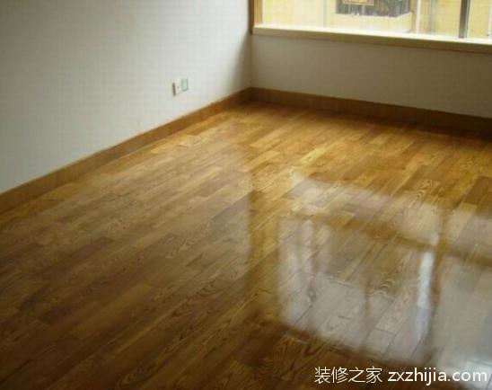 水性地板漆施工