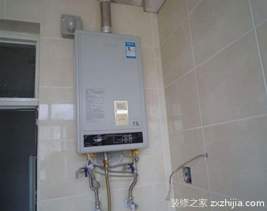天然气热水器安装流程