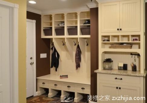 玄关鞋柜设计:不同形式不同效果!
