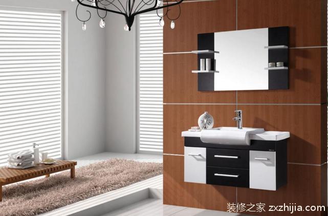 价格相对实木类浴室柜低