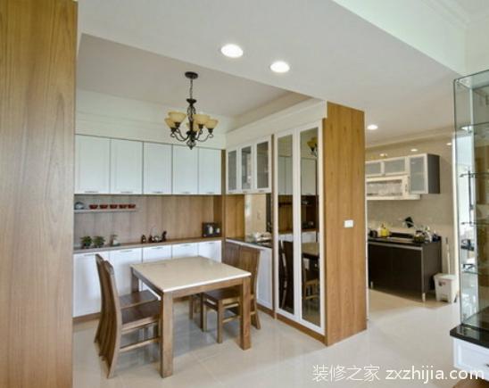 厨房与餐厅隔断如何设计?