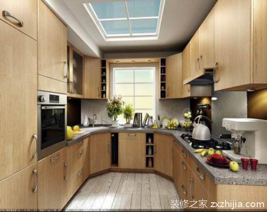 厨房样板间装修效果图