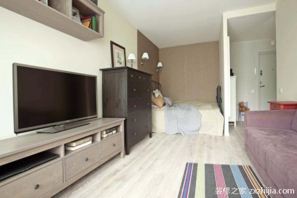 8款单身公寓装修风格,总有一款适合你!
