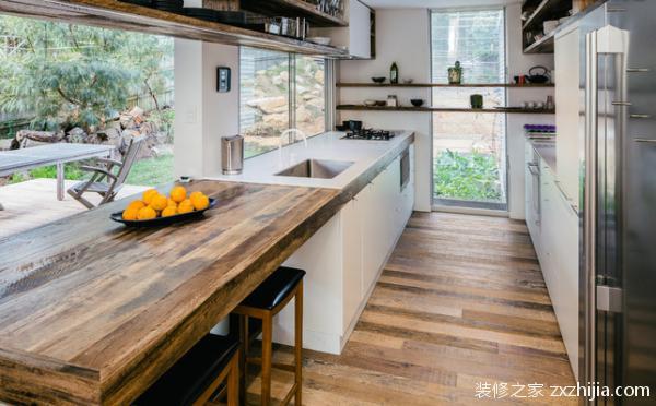 台面材料之木组合