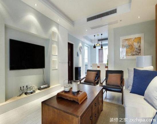 简约风格电视背景墙设计方案怎么做?