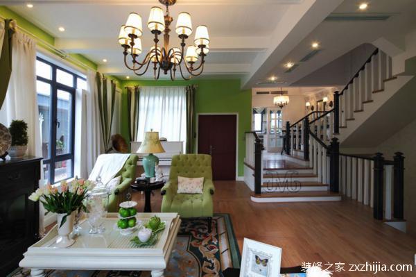 单身公寓室内设计的设计要素之一:色彩鲜活明快