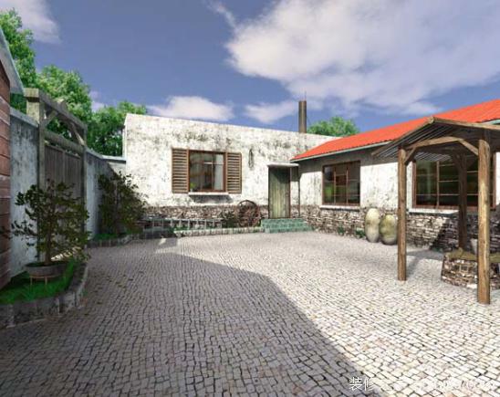 乡村庭院设计