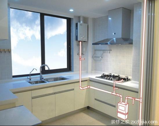 如何安装燃气热水器