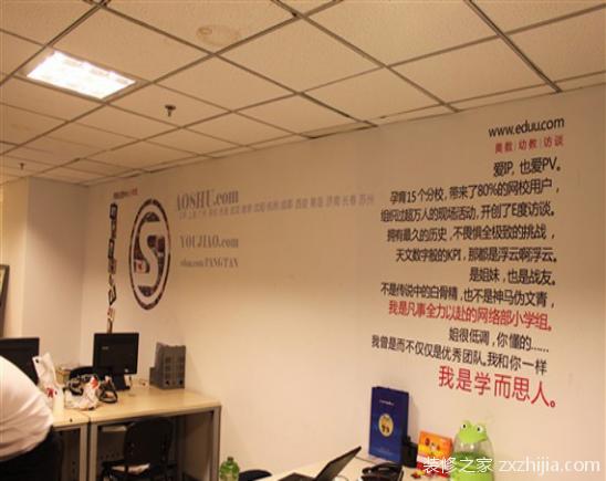 办公室墙面