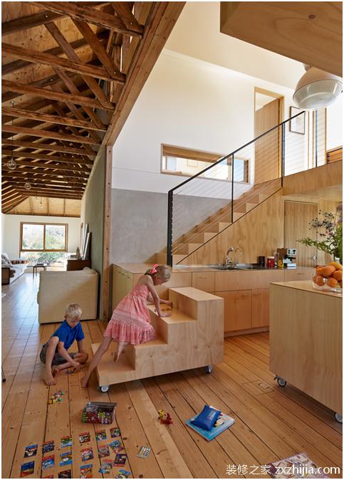 极简loft装修效果图,用颜值说话赚足了眼球!