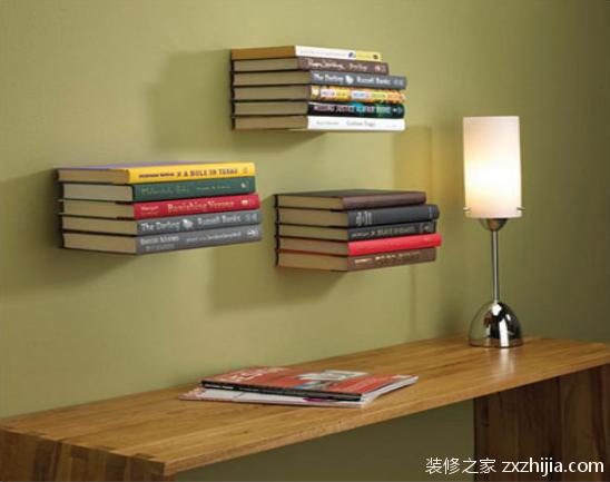 隐形书架如何选购 怎么自制隐形书架