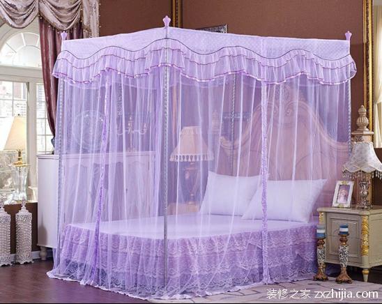 宫廷蚊帐安装方法