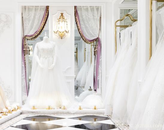 婚纱店装修案例图片