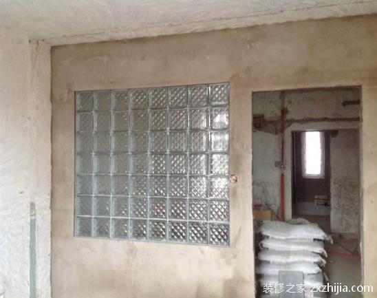玻璃砖隔墙施工