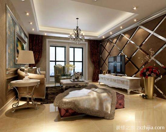 客厅装修多少钱一平