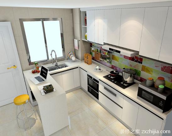 开放式厨房装修设计