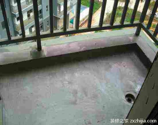 阳台防水装修