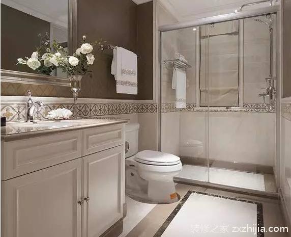 想让卫浴保持干燥卫生,看看这些干湿分区设计!