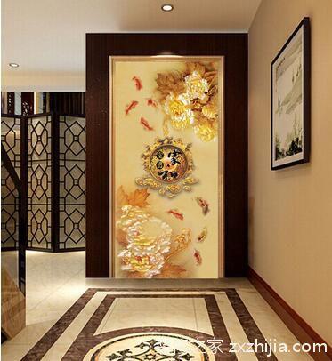 进门玄关壁画什么好 玄关壁画风水有哪些讲究?