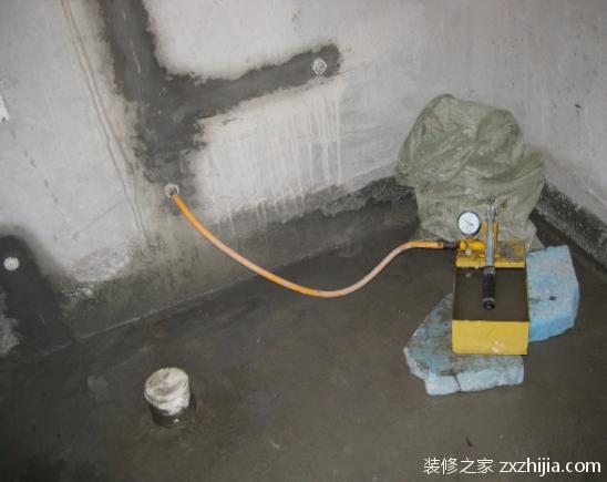 水管打压标准