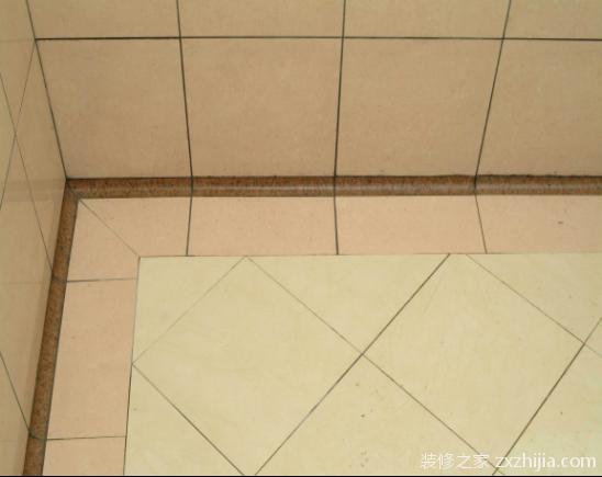 瓷砖铺贴对缝方法
