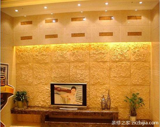 砂岩背景墙施工工艺