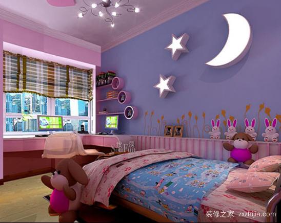 儿童房颜色风水