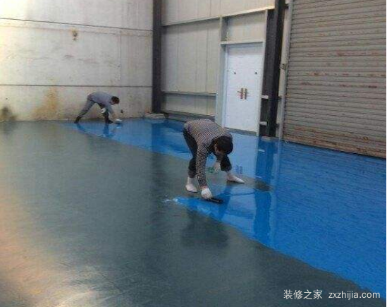 环氧地板漆施工步骤